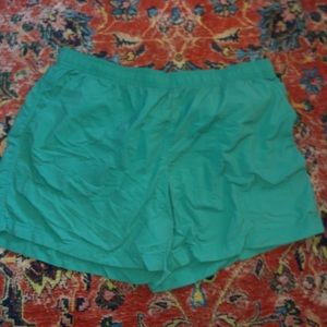 green columbia shorts